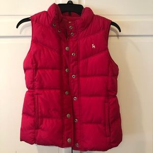 Girls Pink XL Old Navy Puffer Vest